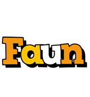 Faun cartoon logo