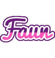 Faun cheerful logo