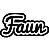 Faun chess logo