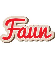 Faun chocolate logo