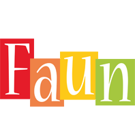 Faun colors logo