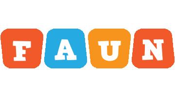 Faun comics logo