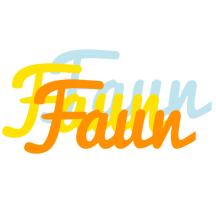 Faun energy logo