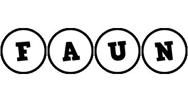 Faun handy logo