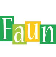 Faun lemonade logo