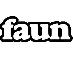 Faun panda logo
