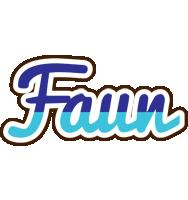 Faun raining logo
