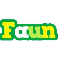 Faun soccer logo