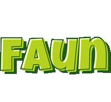 Faun summer logo