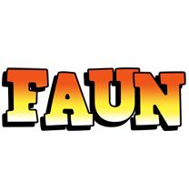 Faun sunset logo