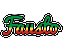 Fausto african logo