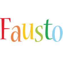 Fausto birthday logo