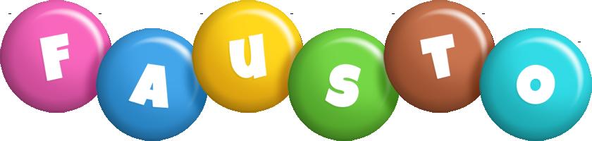 Fausto candy logo