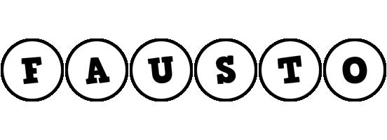 Fausto handy logo