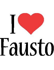 Fausto i-love logo