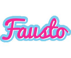 Fausto popstar logo