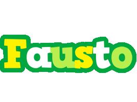Fausto soccer logo