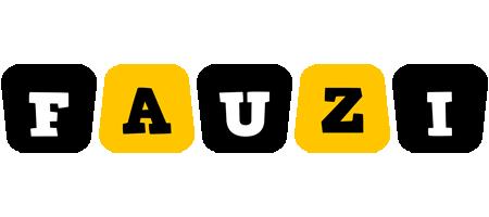 Fauzi boots logo