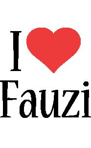 Fauzi i-love logo