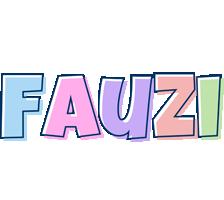 Fauzi pastel logo