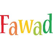 Fawad birthday logo