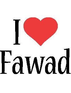 Fawad i-love logo