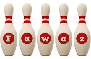 Fawaz bowling-pin logo