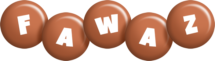 Fawaz candy-brown logo