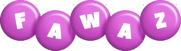 Fawaz candy-purple logo