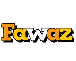 Fawaz cartoon logo