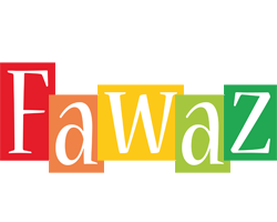 Fawaz colors logo