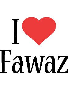 Fawaz i-love logo