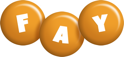 Fay candy-orange logo