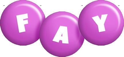 Fay candy-purple logo