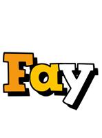 Fay cartoon logo