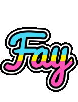 Fay circus logo