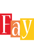Fay colors logo
