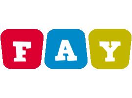 Fay daycare logo