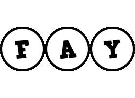Fay handy logo