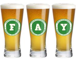 Fay lager logo