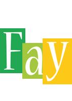 Fay lemonade logo
