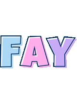 Fay pastel logo