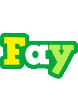 Fay soccer logo