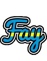 Fay sweden logo