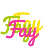 Fay sweets logo