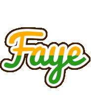 Faye banana logo