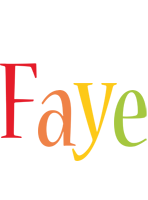 Faye birthday logo