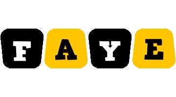 Faye boots logo