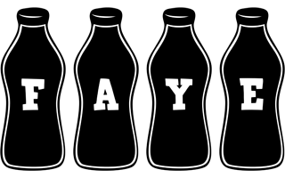 Faye bottle logo