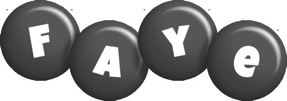 Faye candy-black logo